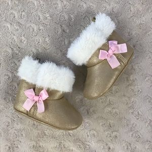 Child of Mine by Carter's Baby Girl Boots 0-3M